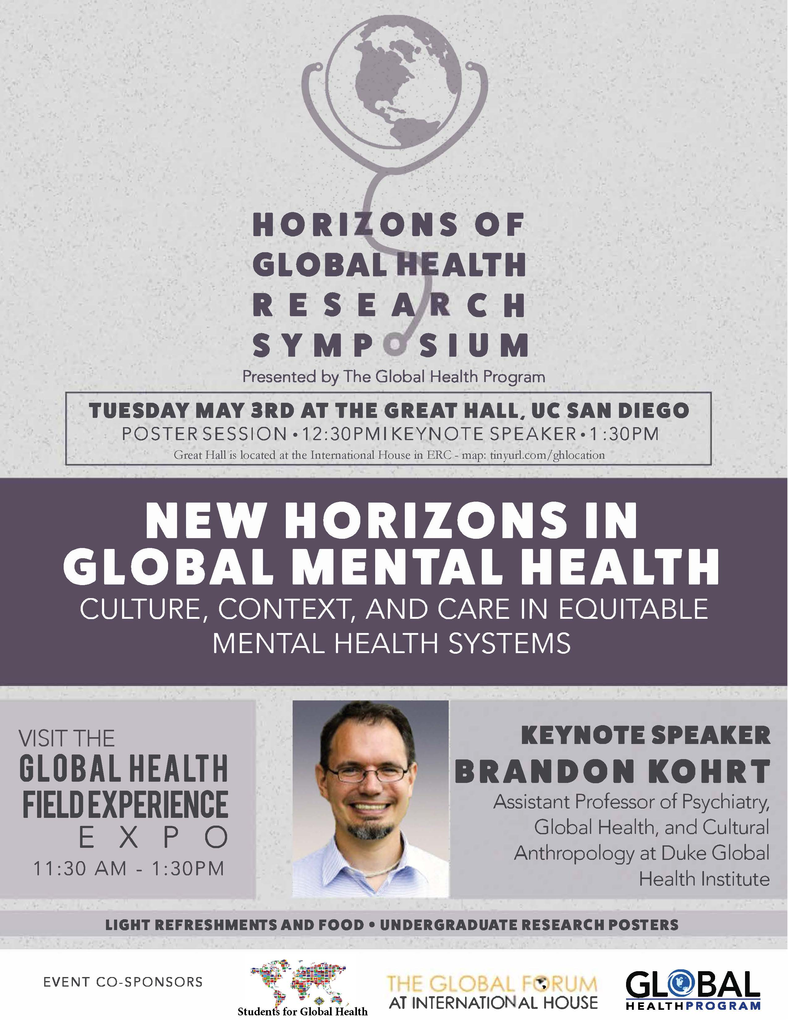Horizons Of Global Health